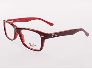 Ray Ban Brille RB1531-3592-46 top red on opalin red