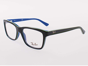 Ray Ban Brille RB1536-3600-48 top dark grey on blue